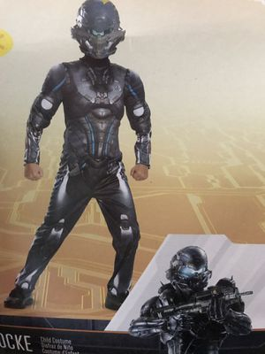 Halo costume with accessory and mask 7/8 for Sale in Tampa, FL