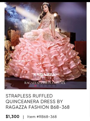RAGAZZA QUINCEANERA DRESS for Sale in Avondale, AZ
