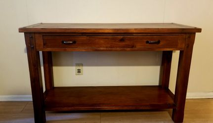 """Solid Wood Console Table 48"""" for Sale in Los Angeles,  CA"""
