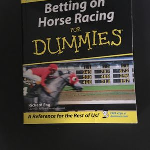 Horse Racing Bet Book for Sale in Rancho Mirage, CA