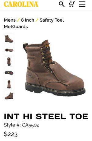 Carolina men's work boots / winter boots for Sale in Taylor, MI