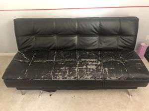 Leather Futon for Sale in Bakersfield, CA