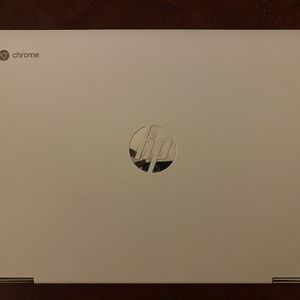 """HP - 2-in-1 14"""" Touch-Screen Chromebook - Intel Celeron - 4GB Memory - 32GB eMMC Flash Memory - Ceramic White With Charger for Sale in Allen Park, MI"""