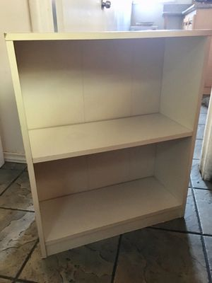 Small white shelf 23x9x28 1/2 H for Sale in Los Angeles, CA
