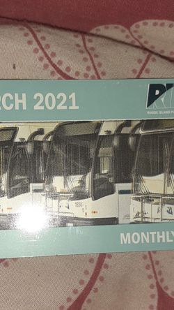 March 2021 Buss Pass for Sale in Providence,  RI