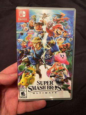 Super Smash Bros Ultimate - Nintendo Switch for Sale in Anaheim, CA