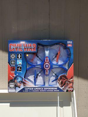 Marvel captain America giant drone for Sale in Rancho Cordova, CA