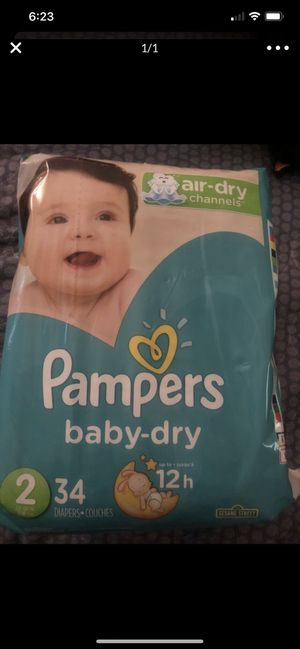 Pampers Size 2 $6 a bag for Sale in Mesa, AZ