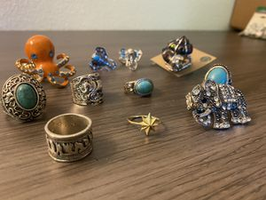 Forever21 Rings for Sale in Ridgefield, WA