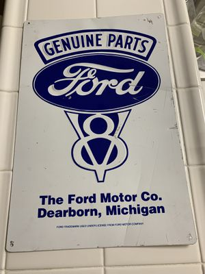 Genuine parts Ford sign for Sale in San Jose, CA