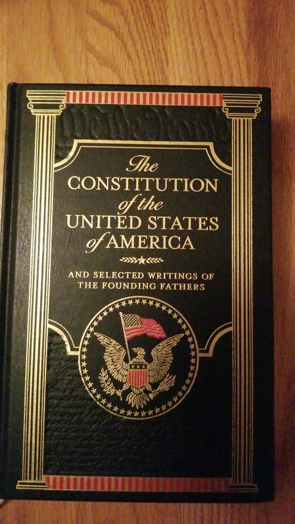 The Constitution of the United States of America and Selected Writings of the Founding Fathers - deluxe hardcover