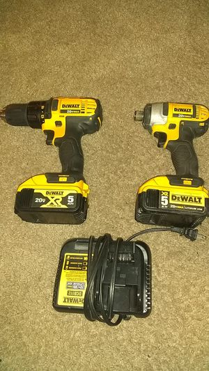 DeWalt impact drills batterys an charger for Sale in Federal Way, WA