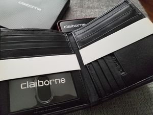 Claiborne leather wallet for Sale in Houston, TX