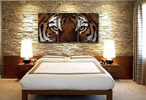 Tiger bed room wall art master piece painting home decor kitchen living room office art work for Sale in Tampa, FL