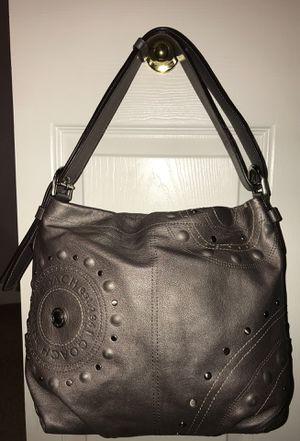 Coach Silver Gray Hobo Purse Bag for Sale in Tampa, FL
