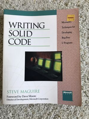 Writing solid code for Sale in Sunnyvale, CA