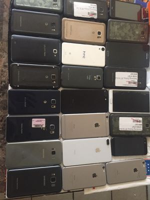 Good Working iPhones and galaxy phones for sale for Sale in Baton Rouge, LA