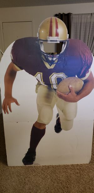 Football Player Photo Stand Up for Sale in Spring Valley, CA