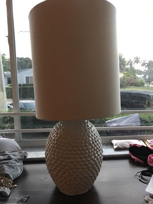 Pineapple lamps... pair for Sale in Miami Beach, FL