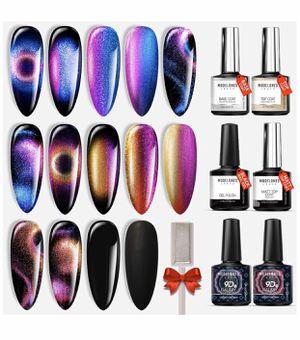 9D cat eye gel nail polish set 7 pieces for Sale in Huntington Beach, CA