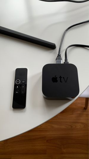 Apple TV 4K Black (32 GB) 4th Generation for Sale in Hillsboro, OR