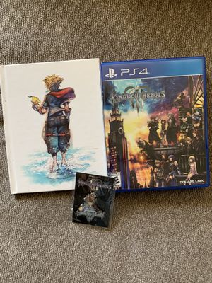 Kingdom Hearts 3 PS4 for Sale in Waterbury, CT