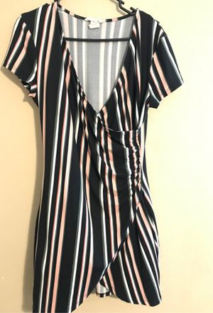 Striped black dress XL for Sale in Houston, TX