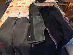 Women's Breeches English riding pants and leather chaps for Sale for sale  Laurence Harbor, NJ