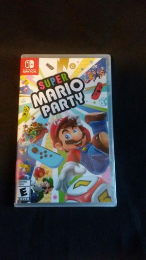 Super Mario Party for Nintendo Switch (brand new and sealed) for Sale in Chicago Heights, IL