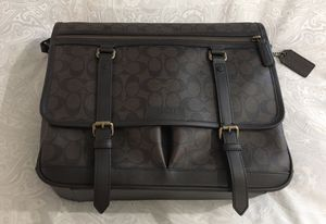 COACH Leather Messenger Bag Men's for Sale in Palm Springs, CA