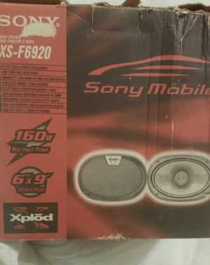 Sony Xplod 6x9's with speaker boxes for Sale in Reedley, CA