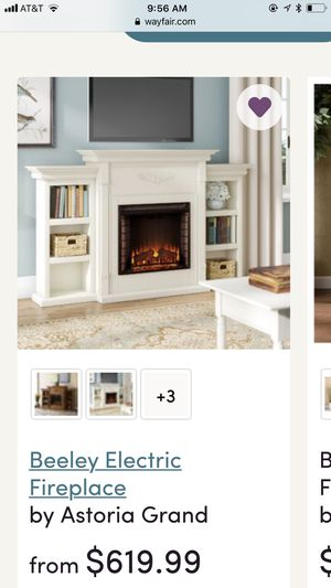 Electric fireplace with extra brand new Insert for Sale in Vidalia, GA