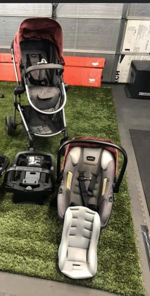 Evenflo Pivot Modular Travel System with car seat for Sale in Roseville, CA