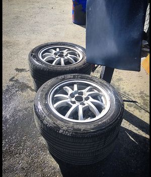 Toyota Prius tires rims 5x100 wheels for Sale in Kent, WA