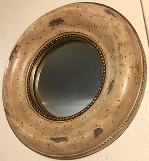 Beautiful wood framed round wall mirror W17xD3 inch for Sale in Chandler, AZ