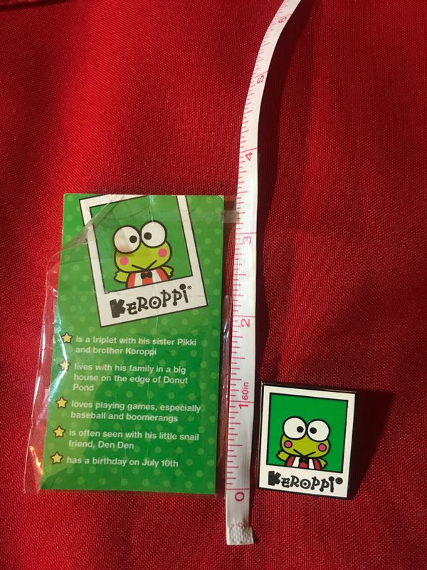 Keroppi (Sanrio) Friend Of The Month Pin