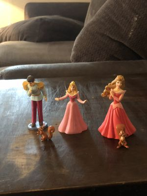 Disney's Sleeping Beauty figures for Sale in Cary, NC
