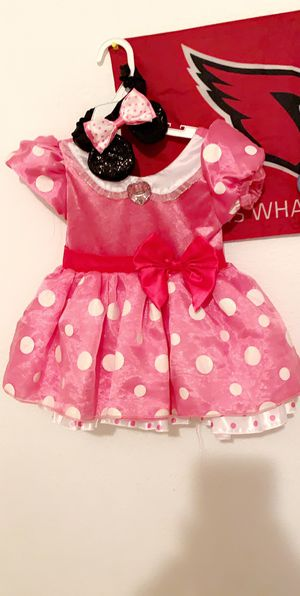 Minnie mouse 18-24 months includes ears for Sale in Phoenix, AZ