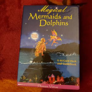 Magical mermaids and dolphins oracle deck for Sale in Killeen, TX
