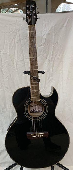 Olympia steel string acoustic /electric guitar for Sale in Auburn, WA