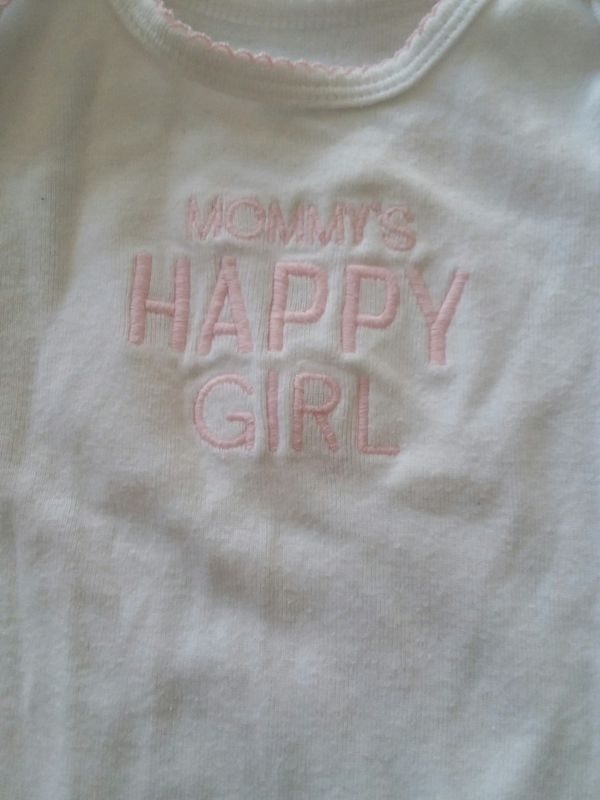 3-6 month onesie