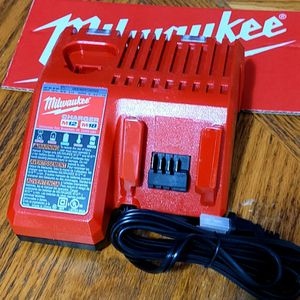 Milwaukee M18 18-Volt M12 Volt Battery Charger Brand New for Sale in Fort Lauderdale, FL