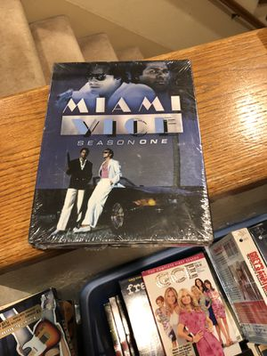 Miami Vice Season 1 DVD Brand New Factory Sealed e Complete First Season 1 tv series s1 box set don Johnson for Sale in Buena Park, CA
