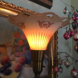100 yr old torchiere light floor lamp antique lighting for Sale in Portland, OR