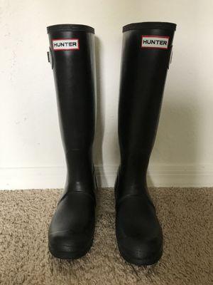 Hunter rain boots for Sale in Chamblee, GA