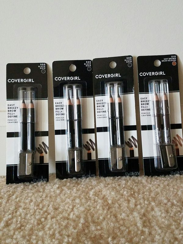 4 new Covergirl eye brow pencil for $10 - price is not negotiable