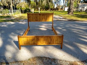 Handmade solid wood bed frames for Sale in Plant City, FL