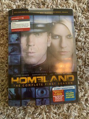 Homeland season one on DVD for Sale in Hanford, CA