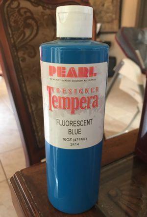 Tempera fluorescent blue 16oz for Sale in Fort Lauderdale, FL