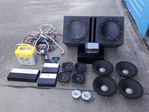 Car stereo system for Sale in Los Angeles, CA